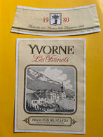 19605 - Yvorne Les Fornets  1980 Francis Borloz - Altri