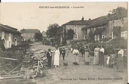 CPA - 88 - Gruey Les Surance - Grande Rue - Très Animée  - - Other Municipalities
