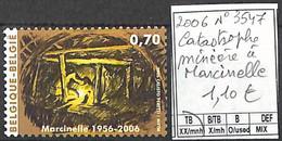 D - [852855]TB//**/Mnh-Belgique 2006 - N° 3547, Catastrophe Minière à Marcinelle - Unused Stamps