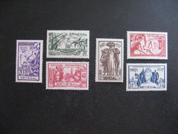 A). SENEGAL:  TB Série  N° 138 Au N° 143, Neufs X . - Unused Stamps
