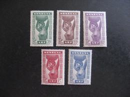 A). SENEGAL:  TB Série  N° 144 Au N° 148, Neufs X . - Unused Stamps