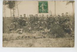 MILITARIA - CAMP DE LA BOUCONNE - Belle Carte Photo Militaires Photographiés à Bouconne En 1913 - Otros Municipios