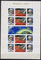 Guinea (Republic) Space 1965 Voskhod 2 Large Sheet Imperf - Guinea (1958-...)