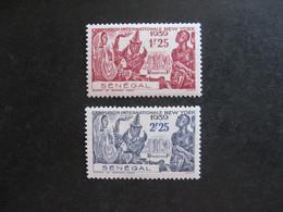 A). SENEGAL : TB Paire N° 153 Et N° 154, Neufs X. - Unused Stamps
