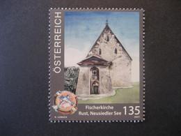 Österreich 2021- Serie: Kirchen In Österreich, Fischerkirche Rust Am Neusiedlersee 135 Ct. ** Ungebraucht - 2011-.... Ongebruikt
