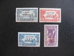 A). SENEGAL:  TB Série  N° 173 Au N° 176, Neufs X . - Unused Stamps