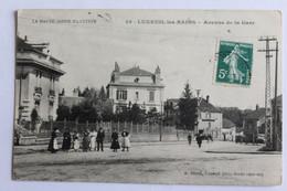 Luxieul Les Bains - Avenue De La Gare - Luxeuil Les Bains