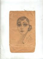 Dessin Crayon  Sur Devant Lettre  Paris Sur Pasteur - Other