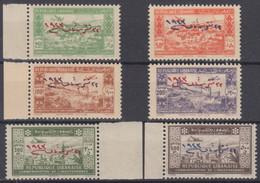 GRAND LIBAN : POSTE AERIENNE SERIE N° 91/96 NEUVE GOMME SANS CHARNIERE COTE 180€ - Posta Aerea