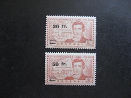 A). SENEGAL : TB Paire N° 196 Et N° 197, Neufs X. - Unused Stamps