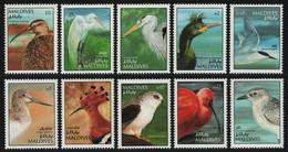 Malediven 1992 - Mi-Nr. 1673-1682 ** - MNH - Vögel / Birds - Malediven (1965-...)