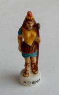FEVE 2002 LA GRECE ANTIQUE LES DIEUX GRECS ATHENA - Geschiedenis