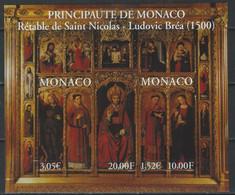 PZ-/-069-  BF  N° 84a , * *  ,  NON DENTELÉ, RETABLE DE  SAINT-NICOLAS ( 1500)  , TRES PEU COURANT - Nuovi
