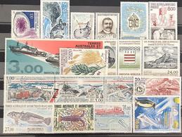TAAF 1997, Poste N° 213/225 ; Poste Aérienne N° 141/145, Luxe, Timbres Juste Magnifiques - Komplette Jahrgänge
