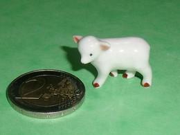 Fèves / Fève / Animaux : Vache , Veau Avec Trou   TB8 - Animali