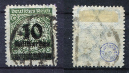 D. Reich Michel-Nr. 336B Gestempelt - Geprüft - Oblitérés