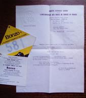 """Lot Papiers """"Société Centrale Canine"""" - Deauville 1965, Caen 1966 - CAC, CACIB - Programs"""