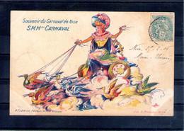 06. Nice. Carte Illustrée. SM Mme Carnaval - Carnaval