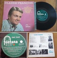 """RARE French LP 33t RPM BIEM 25CM (10"""") CLAUDE FRANCOIS (1963) - Collector's Editions"""