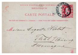 Belgique - Entiers Postaux - Postcards [1871-09]