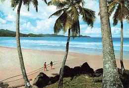 Seychelles Mahé Grand Anse + Timbre  Cachet 1979 - Seychelles