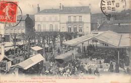 VIMOUTIERS - Le Marché Aux Fromages Et Aux Légumes - Vimoutiers