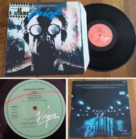 """RARE French LP BOF OST 33t RPM (12"""") """"THIEF"""" (""""LE SOLITAIRE"""") (Tangerine Dream, 1981) - Soundtracks, Film Music"""