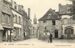 GOURIN LA RUE DU MARTRAY - Gourin