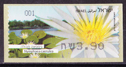Israel - ATM Mi.Nr. 94 - Postfrisch MNH - Blumen Flowers Seerose Lotus - Franking Labels