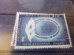 NATIONS UNIES NEW YORK  YVERT N°47 - Gebraucht
