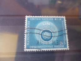 NATIONS UNIES NEW YORK  YVERT N°50 - Gebraucht