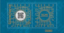 Gibraltar 2021, Crypto Stamp, MNH Stamps Set - Presentation Pack - Gibraltar