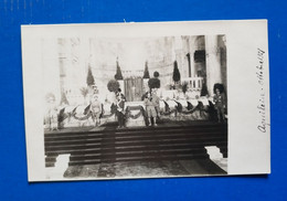 AQUILEIA  OTTOBRE 1921  A PENNA. - ONORANZE FUNEBRI MILITARI. - Udine