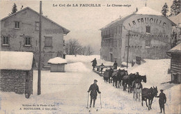 Le Col De La FAUCILLE - Le Chasse-neige - Non Classificati