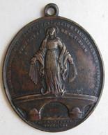 Médaille Religieuse Restauration De L'Abbaye Notre-Dame D'Aiguebelle 1816 . Drôme - 26 - Other
