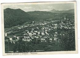 10.461 - PONTE CHIASSO E CHIASSO PANORAMA 1949 - TI Tessin