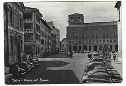 10.463 - UDINE PIAZZA DEL DUOMO ANIMATA AUTO CAR 1955 - Udine