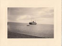 """Photographie - Portugal - Île De Madère - Funchal - Paquebot """"De Grasse"""" En Rade De Funchal - Fotografia"""