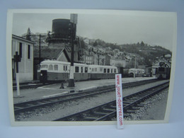 P.O.C Autorails Billard Et Diesel En Gare De ?? - Trains