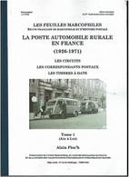Alain FLOCH – La Poste Automobile Rurale En France. - Cancellations