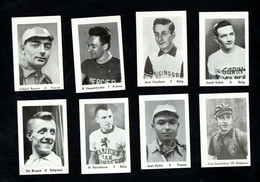 CYCLISME-WIELRENNEN-CICLISMO - 8 CHROMOS ANNEES 50/60 - Ciclismo