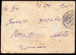"""Melilla - Edi O 273 - Carta Mat """"Melilla 15/5/22"""" A Pontones Alto (Jaén) - Brieven En Documenten"""