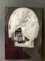 Photographie Originale De J.BAZIN Numérotée : Locomotive Et Rame Entre N.D De Commiers Et La  Motte Les Bains En 1962 - Trains
