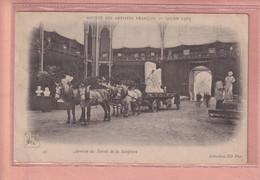 OLD POSTCARD - FRANCE -  SALON 1903 - SOCIETE DES ARTISTES FRANCAIS - ARRIVEE DE LA SCULPTURE - Other
