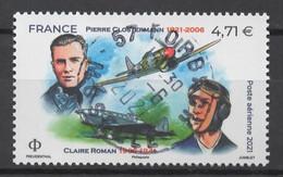 FRANCE 2020 - Timbre - Poste Aérienne - Clostermann  Oblitéré Cachet Rond - Gebruikt