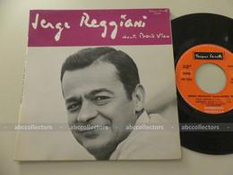 SERGE REGGIANI Chante Boris Vian ~ French 45 Tours/RPM EP 7'' (BIEM - 1966) - Otros - Canción Francesa