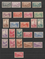 Lot N° A 3 ANDORRE  Neufs Xx  N° 24 A 45 ( Sauf 30 A ) Paysage De La Principauté Cote 925 € - Sammlungen (im Alben)