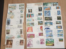 Wallis Et Futuna Lot De 35 FDC - Collections, Lots & Series