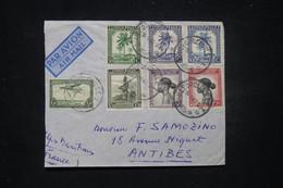 CONGO BELGE - Enveloppe De Léopoldville Pour La France En 1947 Par Avion - L 99327 - 1947-60: Covers