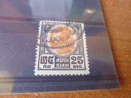 SIAM  YVERT N° 198 - Siam